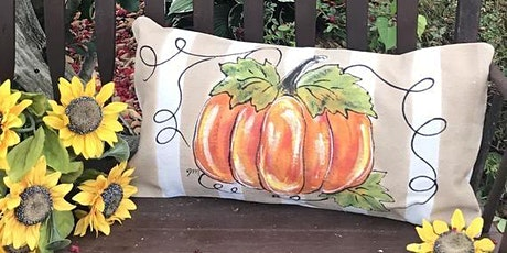 Pumpkin Pillows Painting with Melanie Fay tickets