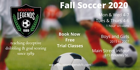Fall Fun Soccer Sessions U5-U7 (2013-15) tickets