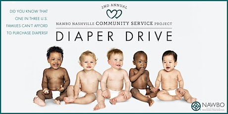 2nd Annual NAWBO Nashville Community Service Project Diaper Drive tickets