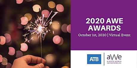2020 Virtual AWE Awards tickets