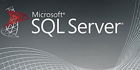 4 Weeks SQL Server Training Course in Orange tickets