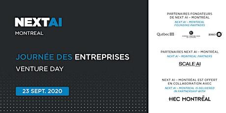 Next AI - Montréal 2020: Journée des entreprises | Venture Day tickets