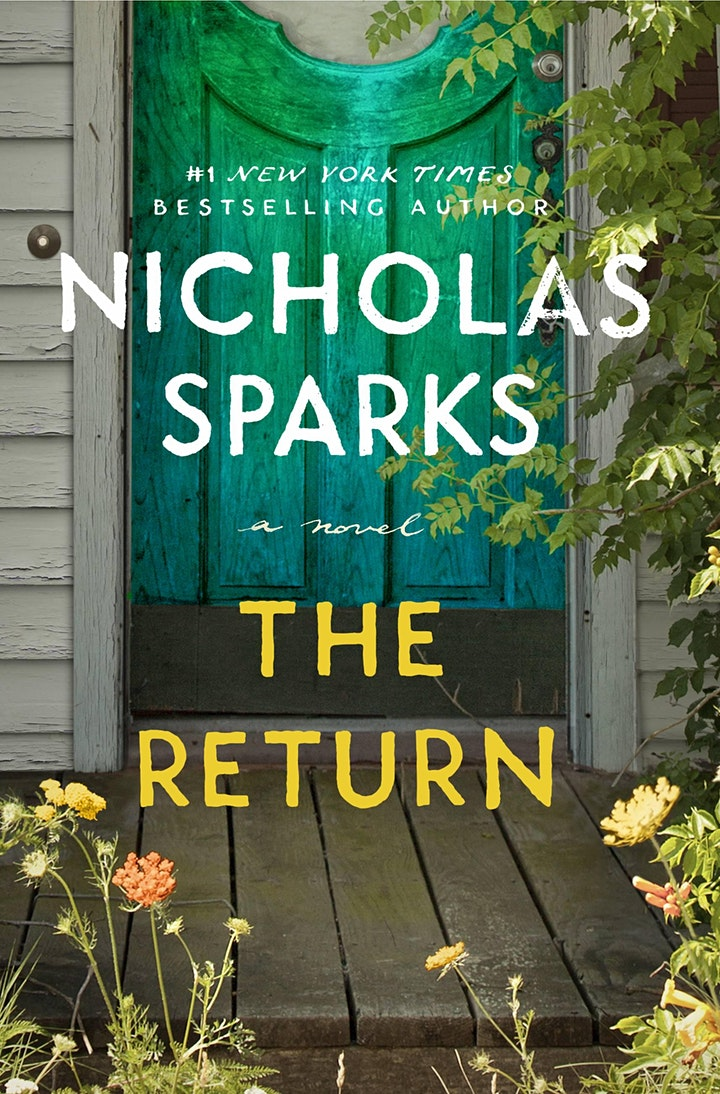 Meet & get a photo with Nicholas Sparks for THE RETURN at B&N - Charlotte! image
