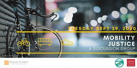 Mobility Justice Discussion Group: Bicycle/Race tickets