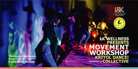 The Movement Workshop Facilitated by Kyiyol Dance! Collective tickets