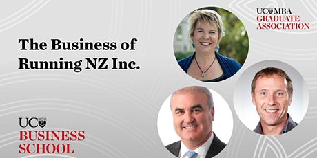 The Business of Running NZ Inc. tickets