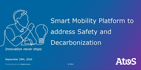 Smart Mobility Platform to address Safety and Decarbonization tickets