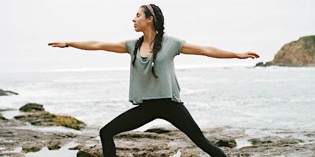 Free 60-Minute Online Virtual Yoga All Levels with Kadisha Aburub -- NC tickets