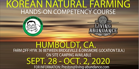Korean Natural Farming competency course tickets