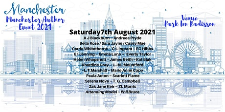 Manchester Author Event 2021 tickets