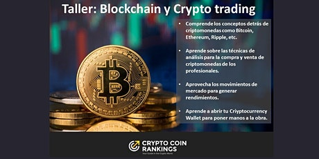Taller: Blockchain BITCOIN y Crypto Trading entradas