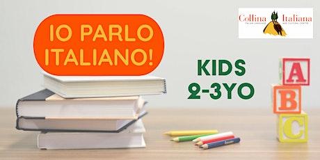 Italian for kids 2-3 yo - WEDNESDAY 10am tickets