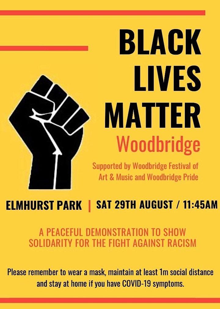 Woodbridge Black Lives Matter - Elmhurst Park Rally image