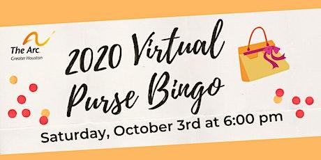 The Arc's Virtual Purse Bingo tickets
