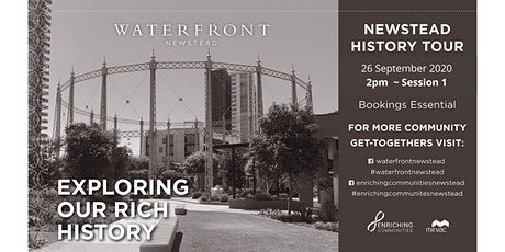 Exploring History Tours - 330pm -Session 2 tickets