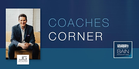 CB Bain   Coaches Corner: The Seller Process    Zoom   Sept 22nd 2020 tickets