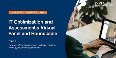 IT Optimization and Assessments Virtual Panel and Roundtable | Topic 2 tickets