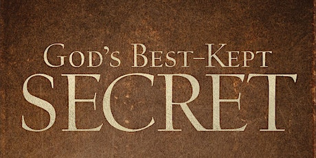 God's Best-Kept Secret Conference - March (Live online only) tickets