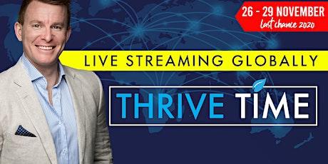 Thrive Time NOVEMBER 2020 - The Mojo Master ingressos