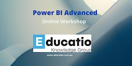 Power BI Advanced Online Workshop tickets