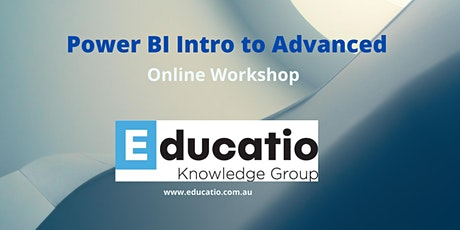 Power BI from Beginners to Advanced Level tickets