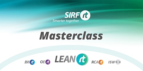 WA SIRF Masterclass | LEAN  Values and Behaviours for Sustained Success tickets