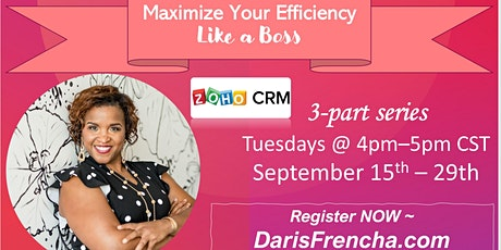 Increase Efficiency and Results! Zo-Ho With Daris! tickets