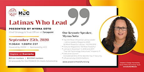 "Power On Heels Fund, Inc  Presents- Myrna Soto "" Latinas Who Lead"" tickets"