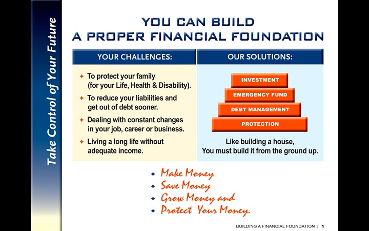 Financial Literacy Workshop in USA/CANADA image