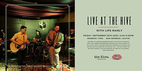 Live at the Hive with Lips Manly tickets