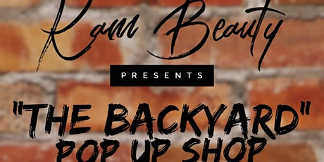 """The Backyard"" Pop-up Shop tickets"