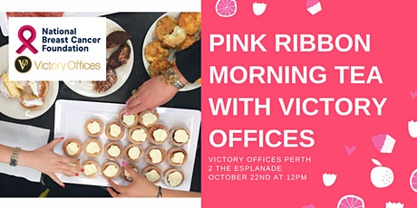 Pink Ribbon Morning Tea With Victory Offices tickets