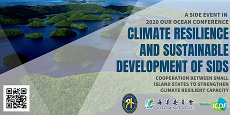 Climate Resilience and Sustainable Development of SIDS tickets