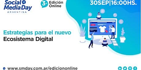 Social Media Day Argentina - 3 ra edición online - 30/9 boletos