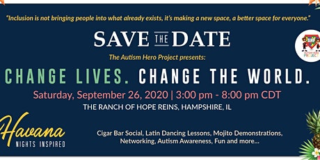CHANGE LIVES. CHANGE THE WORLD - HAVANA NIGHTS INSPIRED  presented by AHP tickets