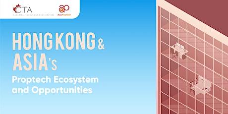 Hong Kong & Asia's PropTech Ecosystem & Landscape tickets