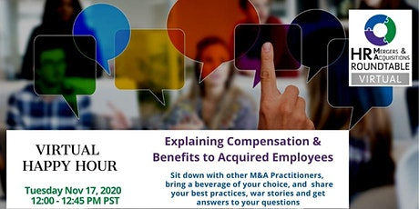 Explaining Compensation & Benefit Changes to Acquired Employees tickets