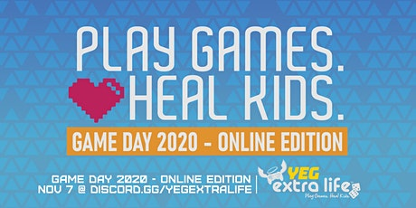 Extra Life Edmonton Game Day 2020 - Online Edition tickets