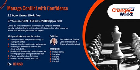 Managing Conflict with Confidence tickets