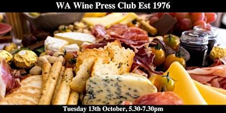 WA Wine Press Club Amazing Grazing Event tickets