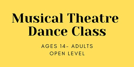 Virtual Adult Musical Theatre Dance Class tickets