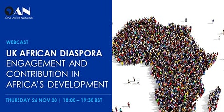 UK African Diaspora: Engagement and Contribution in Africa's Development tickets