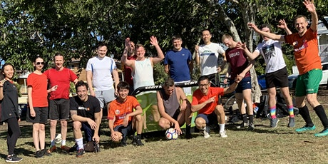 Soccer Kick-around at 3 pm Saturdays at Victoria Park