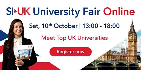 Want to study in UK? Come to the UK Education Fair tickets