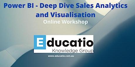 Power BI - Deep Dive Sales Analytics and Visualisation tickets