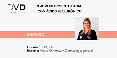 Rejuvenecimiento facial con ácido hialurónico entradas