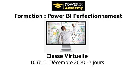 Power BI Perfectionnement - 2 jours - 10 & 11 Décembre 2020 billets