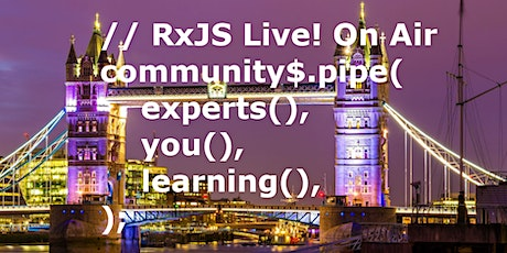 RxJS Live! On Air tickets