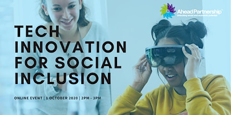 Tech Innovation for Social Inclusion tickets