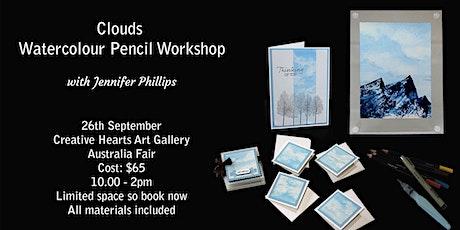 Clouds Watercolour Pencil Workshop tickets